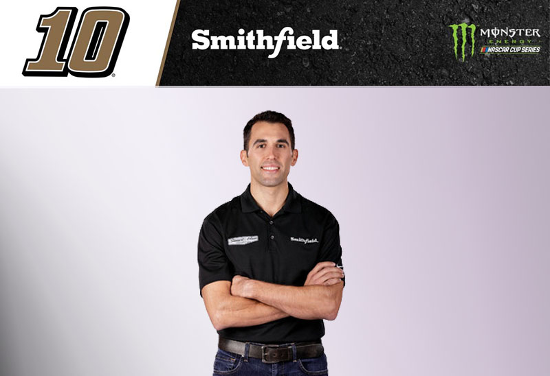 New Year, New Team for Almirola, Smithfield